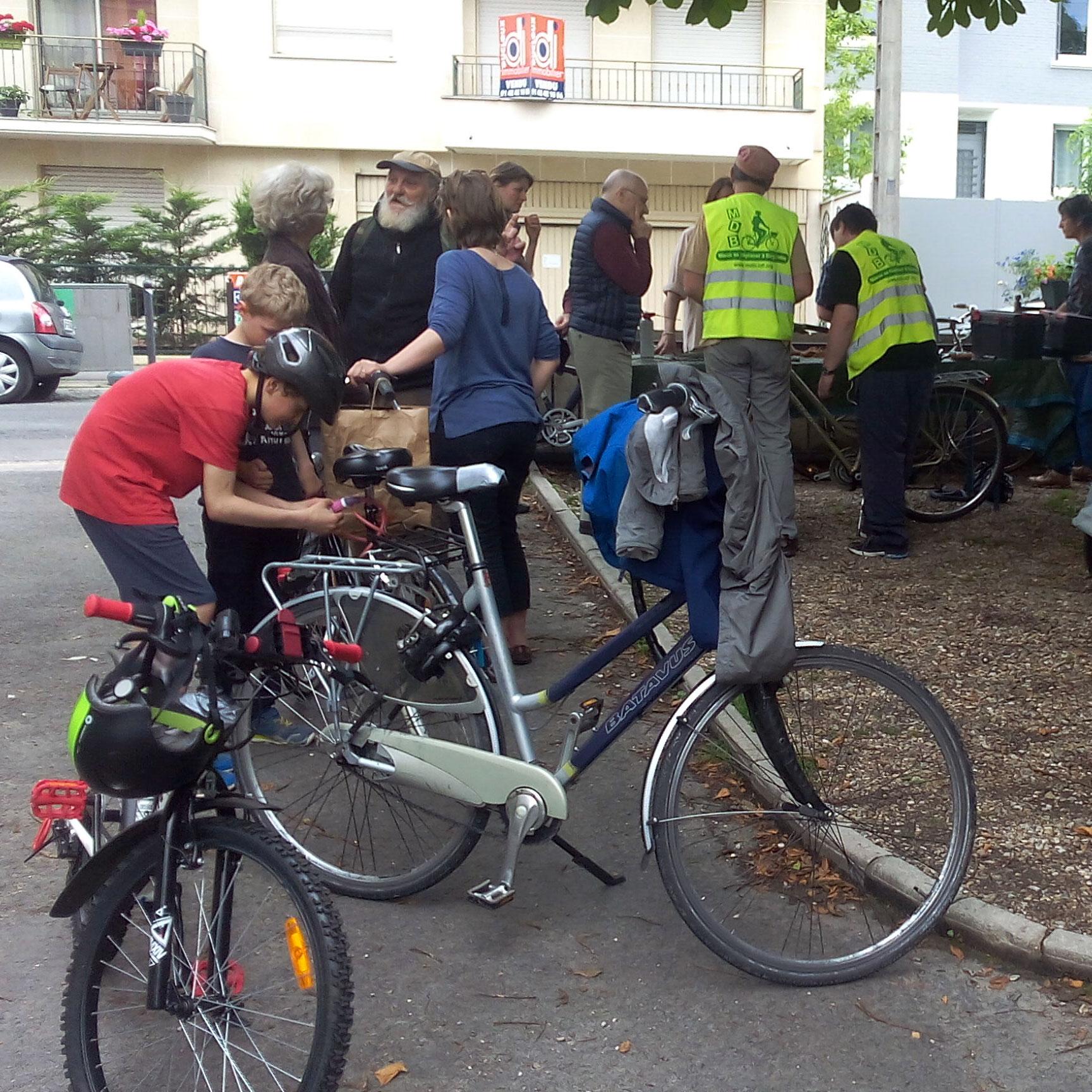 Atelier vélo - Centre 72